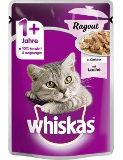 Whiskas 1+ Ragout mit Lachs (85 g) - 5900951263200