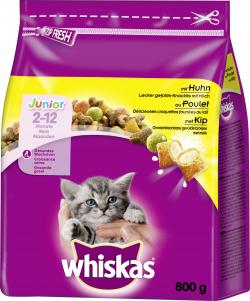 Whiskas Junior mit Huhn (800 g) - 5900951259449