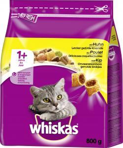 Whiskas Trocken 1+ mit Huhn (800 g) - 5900951265358