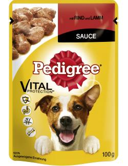 Pedigree mit Rind & Lamm in Sauce