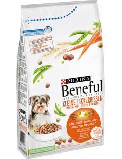 Beneful Kleine Leckerbissen mit Rind, Gartengemüse und Vitaminen