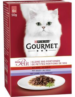 Purina Gourmet Mon Petit Fleisch (6 x 50 g) - 7613034580832