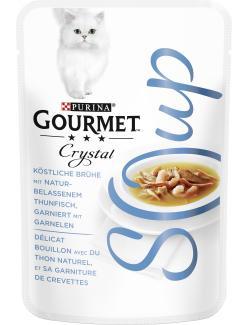 Purina Gourmet Crystal Soup Thunfisch & Garnelen (40 g) - 7613035754942