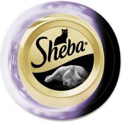 Sheba Feine Filets mit Thunfischfilets & Garnelen