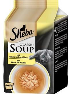Sheba Classic Soup mit Hühnerbrustfilets