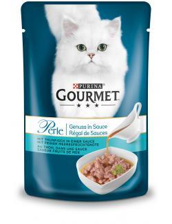 Gourmet Perle Genuss in Sauce mit Thunfisch