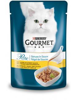 Gourmet Perle Genuss in Sauce mit Huhn