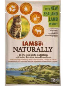Iams Naturally Cat mit Lamm in Sauce
