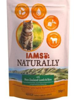 Iams Naturally Cat mit Lamm & Reis