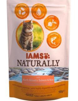 Iams Naturally Cat mit nordatlantischem Lachs & Reis