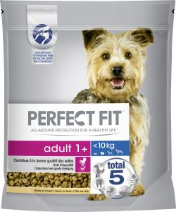 Perfect Fit Hund Adult 1+ XS/S reich an Huhn