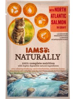 Iams Naturally Cat Lachs in Sauce