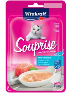 Vitakraft Souprise Liquid Snack mit Lachs