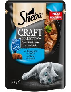 Sheba Craft Collection Zarte Stückchen mit Thunfisch in Sauce