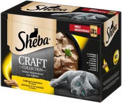 Sheba Craft Collection Feine Stückchen Geflügel Variation in Sauce