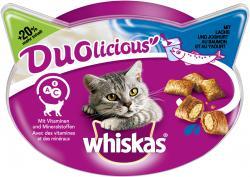 Whiskas Duolicious Snacks mit Lachs & Joghurt