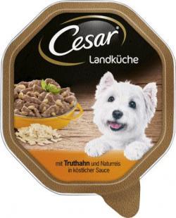Cesar Landküche mit Truthahn und Naturreis