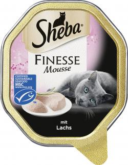 Sheba Finesse Mousse mit Lachs