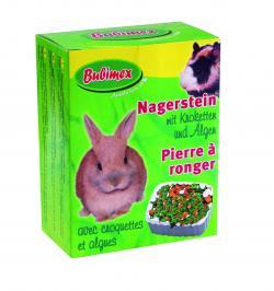 Bubimex Nagerstein mit Kroketten und Algen