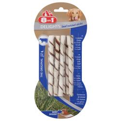 Bild für 8in1 Delights Twisted Sticks Beef