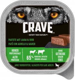 Crave Hund Pastete mit Lamm & Rind