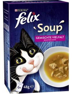 Felix Soup Gemischte Vielfalt Multipack