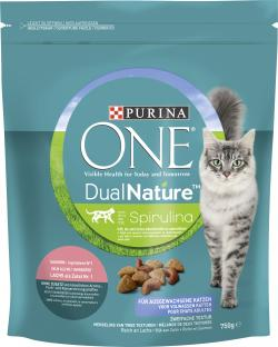 Purina One Dual Nature Spirulina mit Lachs