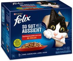 Felix So gut wie es aussieht Geschmacksvielfalt Fleischauswahl in Gelee