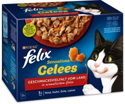 Felix Sensations Gelees Geschmacksvielfalt vom Land in aromatischen Gelee