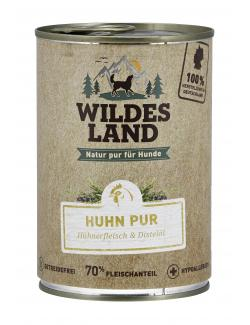 Wildes Land Hund Huhn Pur