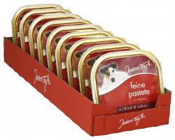Jeden Tag Hund Feine Pastete mit Rind & Leber