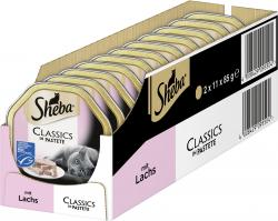 Sheba Classics in Pastete mit Lachs