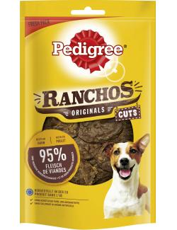 Pedigree Ranchos Originals Cuts Reich an Huhn