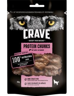 Crave Hund Protein Chunks mit Lachs