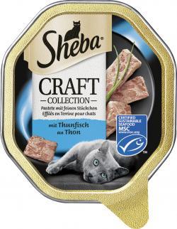 Sheba Craft Collection Pastete mit feinen Stückchen mit Thunfisch
