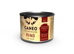 Caneo Ruf der Wildnis Rind und Wild getreidefrei