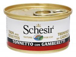 Schesir Cat Thunfisch mit Garnelen