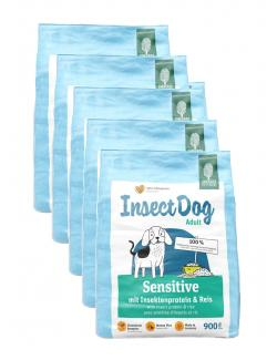 Green Petfood InsectDog Adult Sensitive mit Insektenprotein & Reis