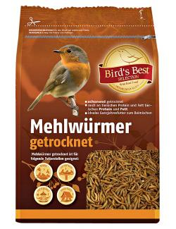 Bird's Best Mehlwürmer getrocknet