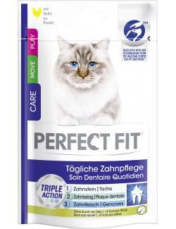 Perfect Fit Cat Tägliche Zahnpflege mit Huhn