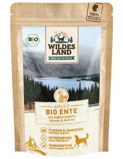 Wildes Land Hund Adult Bio Ente