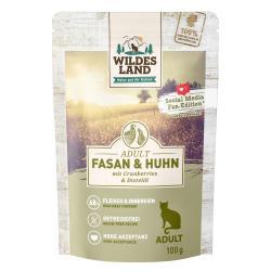Wildes Land Katze Adult Fasan & Huhn