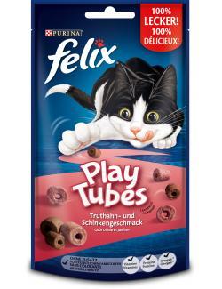 Felix Play Tubes Truthahn- und Schinkengeschmack