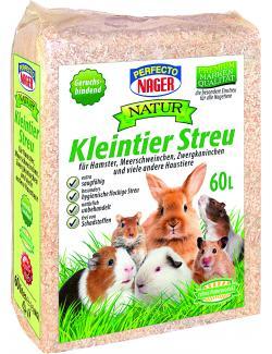 Perfecto Nager Natur Kleintier Streu