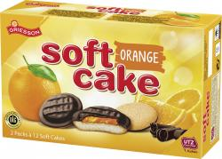 Griesson Soft Cake Orange zartbitter