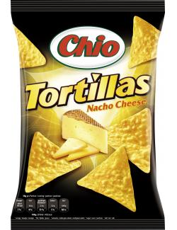 Chio Tortillas Nacho Cheese (125 g) - 4001242002162
