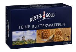 Küstengold Feine Butterwaffeln (250 g) - 4250426200522