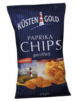 Küstengold Paprika Chips geriffelt