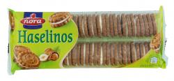 Nora Haselinos Haselnuss-Kekse mit Cremefüllung