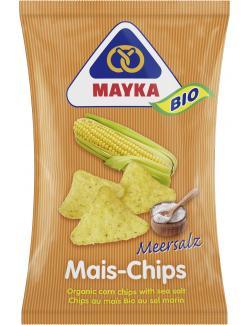 Mayka Bio Mais-Chips mit Meersalz